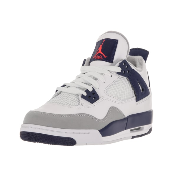 Nike Jordan Kids Air Jordan 4 Retro Basketball Shoe