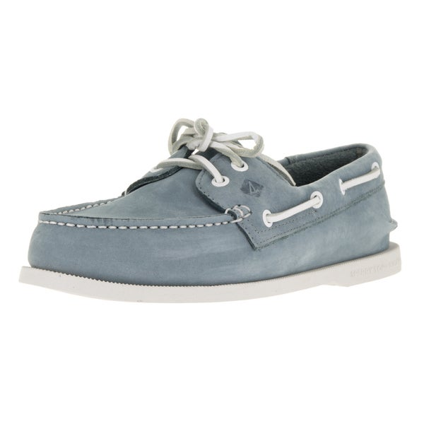 Sperry Top-Sider Men's Authentic Original 2-Eye Washable Blue Boat Shoe