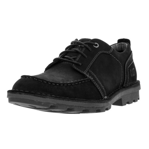 Caterpillar Men's Wagner Lace-up Black Leather Casual Shoe