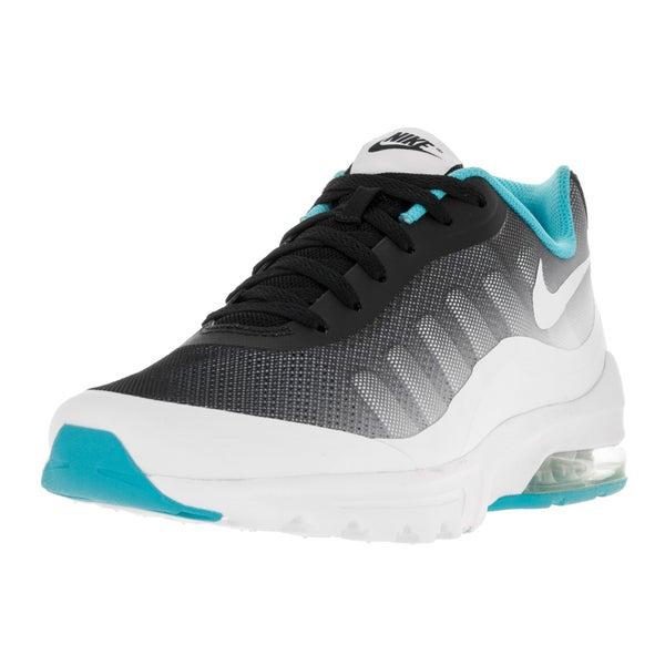 Nike Men's Air Max Invigor Print Black/White Gamma Blue Running Shoe