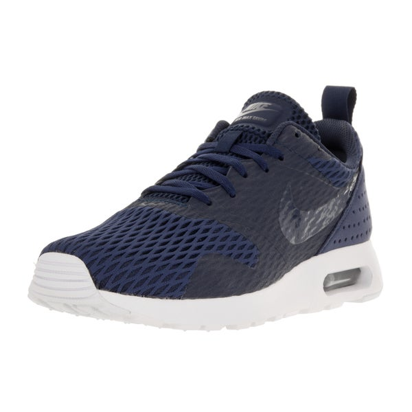 Nike Men's Air Max Tavas Midnight Navy Fabric Running Shoes