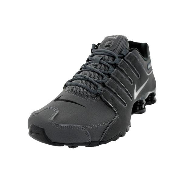 Nike Men's Shox NZ Dark Grey Running Shoe