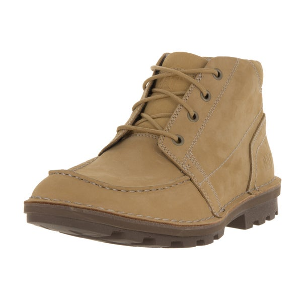 Caterpillar Men's Wagner Mid-honey Leather Resest Boots