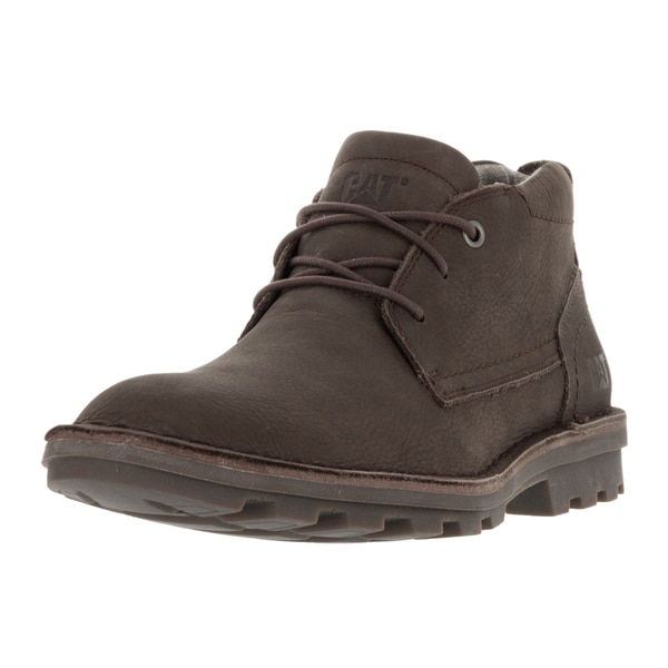Caterpillar Men's Brady Mid Summer Brown Leather Boot