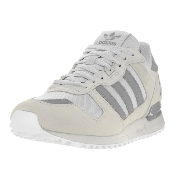 Adidas Men's ZX 700 M Originals Grey Suede Running Shoes