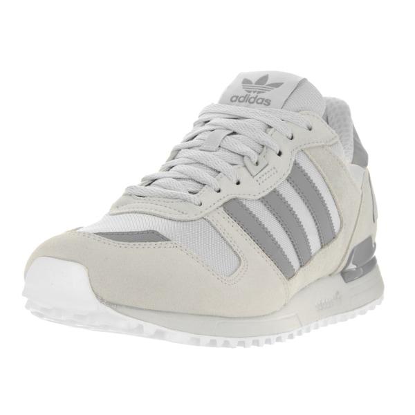 Adidas Men's ZX 700 M Originals Grey Suede Running Shoes