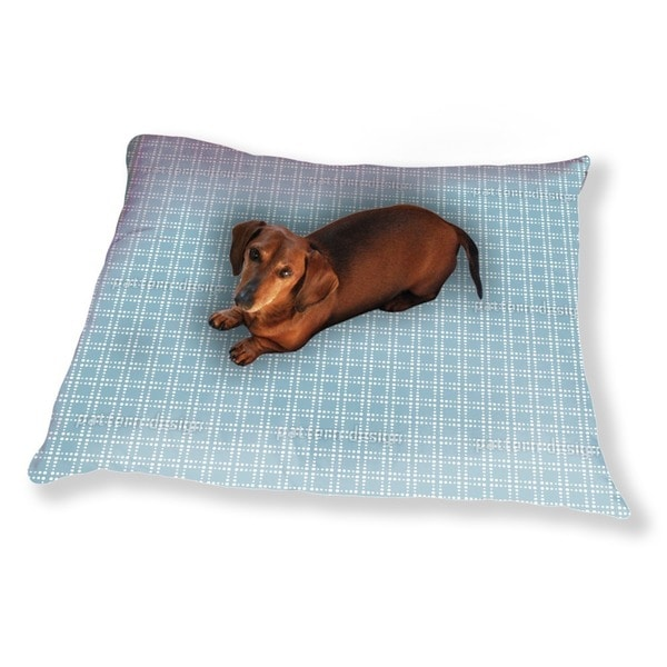 Powder Blue Dog Pillow Luxury Dog / Cat Pet Bed