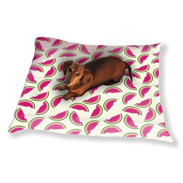 Melons For Breakfast Dog Pillow Luxury Dog / Cat Pet Bed