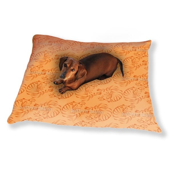 Orange Tigers Dog Pillow Luxury Dog / Cat Pet Bed