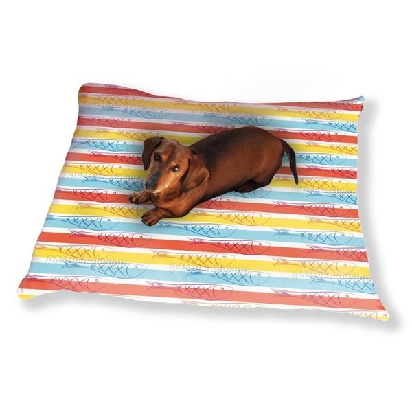 Herring In Summer Dog Pillow Luxury Dog / Cat Pet Bed