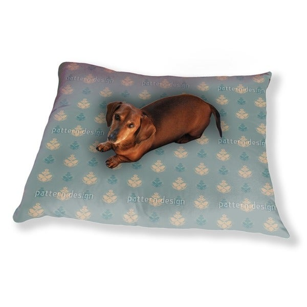 Cool Flower Opulence Dog Pillow Luxury Dog / Cat Pet Bed