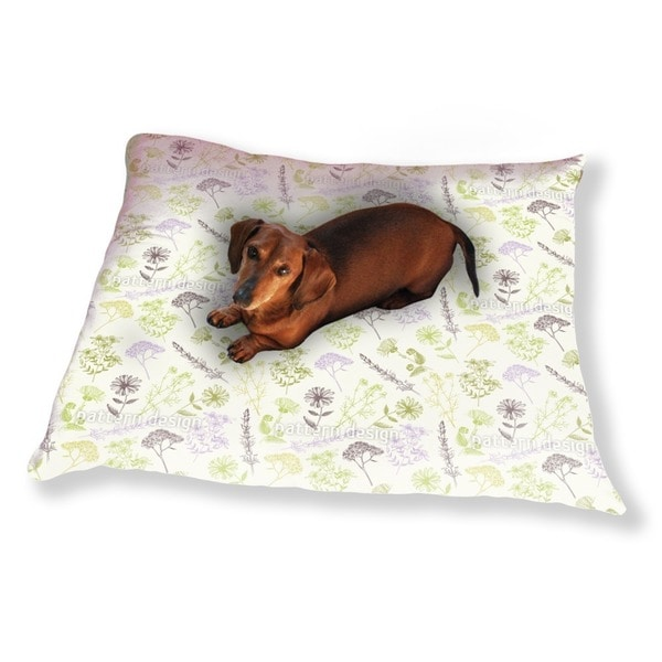 Healing Flowers Dog Pillow Luxury Dog / Cat Pet Bed