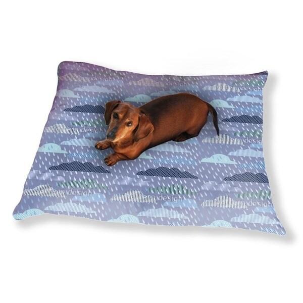Thunder Cloud Patchwork Dog Pillow Luxury Dog / Cat Pet Bed