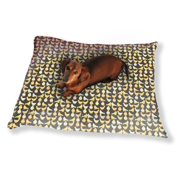 The Chick Bang Theory Dog Pillow Luxury Dog / Cat Pet Bed