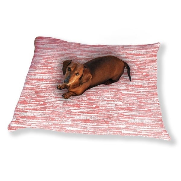 Graphite Red Dog Pillow Luxury Dog / Cat Pet Bed