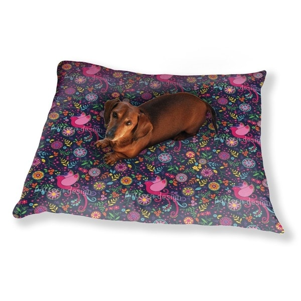 The Bird Queen Feast At Night Dog Pillow Luxury Dog / Cat Pet Bed
