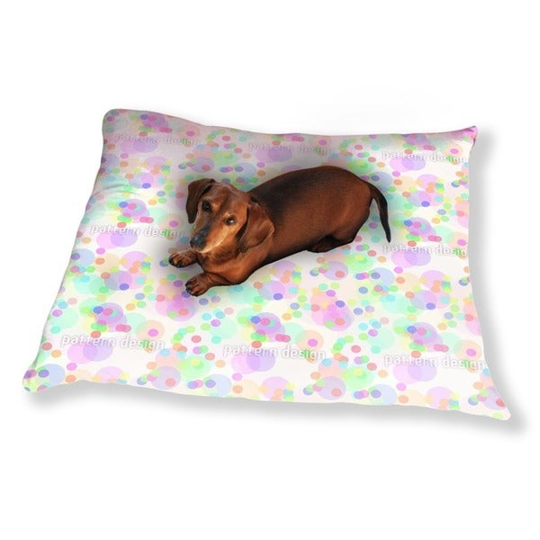 Confetti Me Dog Pillow Luxury Dog / Cat Pet Bed