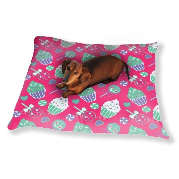 Happy Desserts Pink Dog Pillow Luxury Dog / Cat Pet Bed