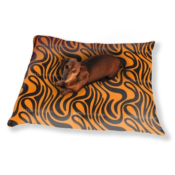 Tiger Skin Dog Pillow Luxury Dog / Cat Pet Bed