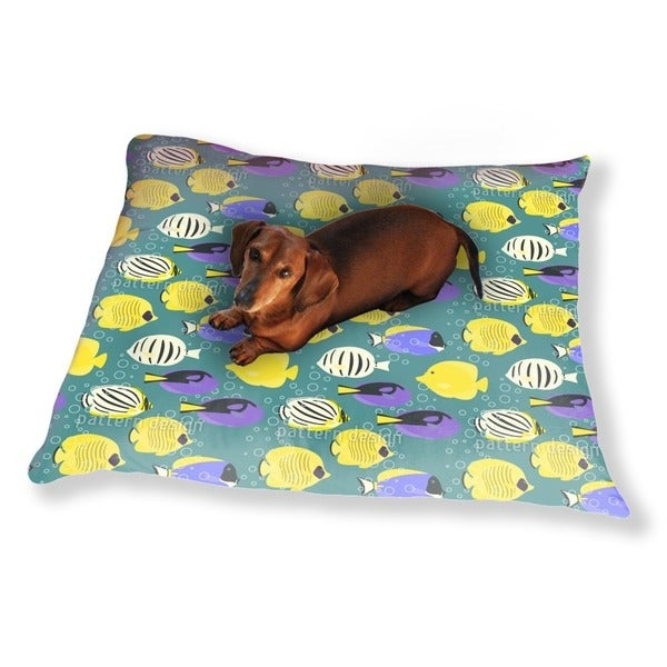 Tropical Fishes Dog Pillow Luxury Dog / Cat Pet Bed