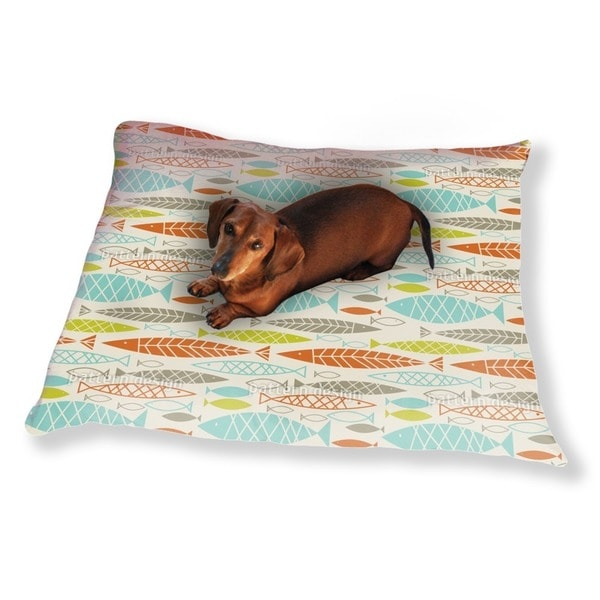 All About Fish Dog Pillow Luxury Dog / Cat Pet Bed