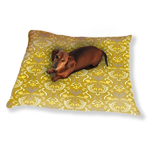 Bon Apart Gold Dog Pillow Luxury Dog / Cat Pet Bed