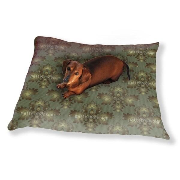 Modern Brocade Design Dog Pillow Luxury Dog / Cat Pet Bed