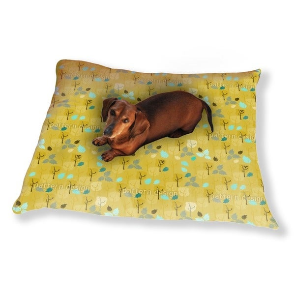 When The Last Leaves Fall Dog Pillow Luxury Dog / Cat Pet Bed