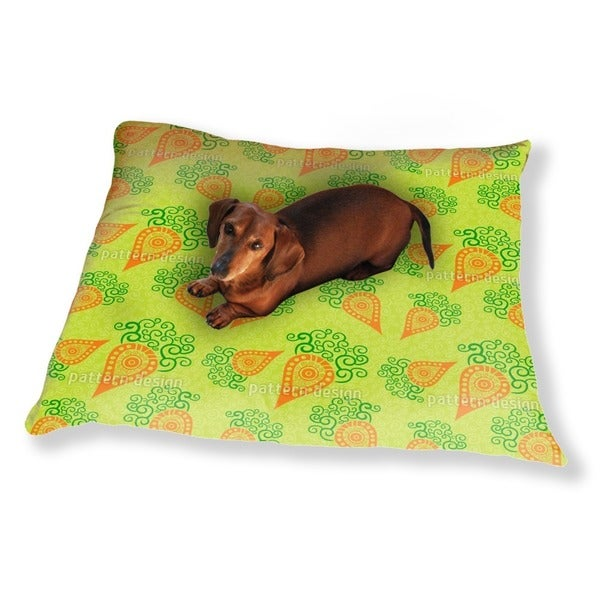 Filigree Baby Carrots Dog Pillow Luxury Dog / Cat Pet Bed