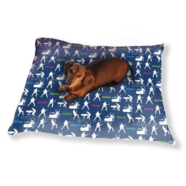 Rock Music Dog Pillow Luxury Dog / Cat Pet Bed