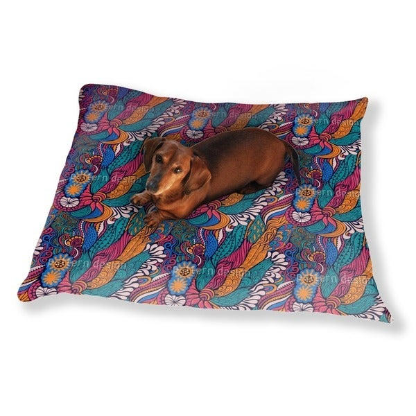 Hippie Festival Dog Pillow Luxury Dog / Cat Pet Bed