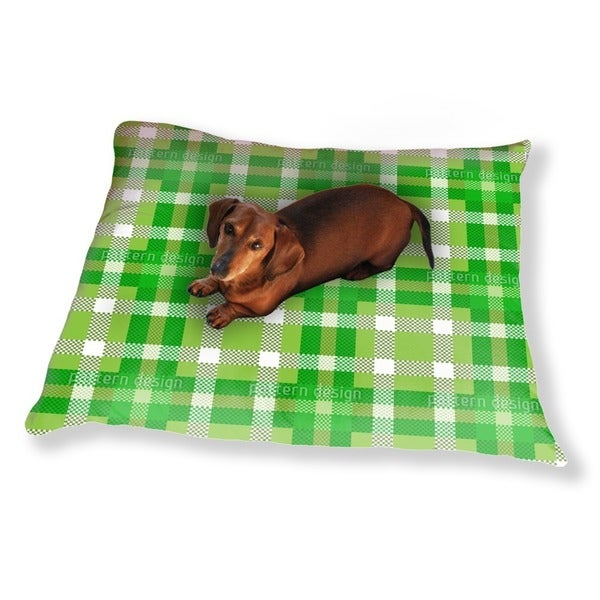 Tartan Pixels Dog Pillow Luxury Dog / Cat Pet Bed