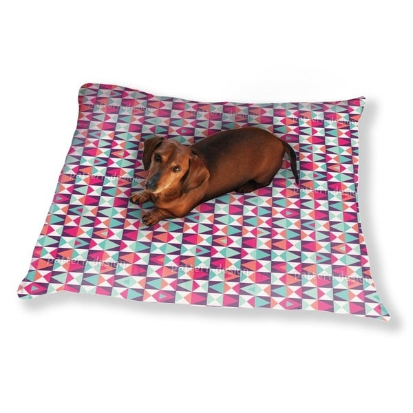 Retro This And That Dog Pillow Luxury Dog / Cat Pet Bed