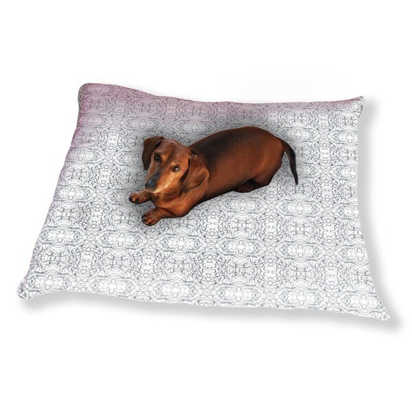 Calligraphic Weave Dog Pillow Luxury Dog / Cat Pet Bed