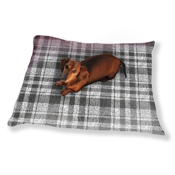 You Cant Go Wrong With Checks Dog Pillow Luxury Dog / Cat Pet Bed