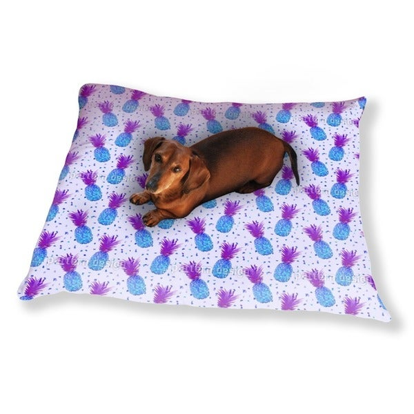 Disco Pineapple Dog Pillow Luxury Dog / Cat Pet Bed