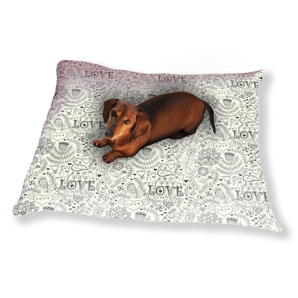 Valentines Day In The Notebook Dog Pillow Luxury Dog / Cat Pet Bed