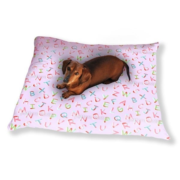 Alpha Berta Rosa Dog Pillow Luxury Dog / Cat Pet Bed