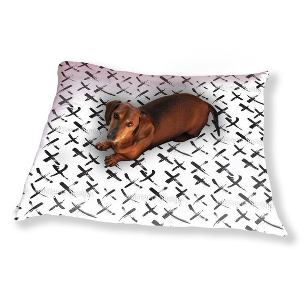 X Marks The Spot Dog Pillow Luxury Dog / Cat Pet Bed