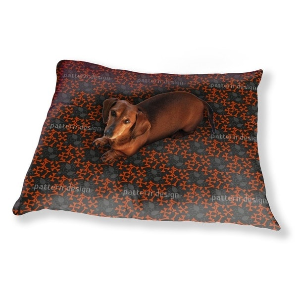 Bones And Spiders Dog Pillow Luxury Dog / Cat Pet Bed