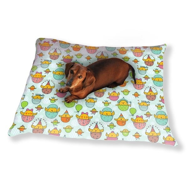 The Russian Easter Chick Hatch Dog Pillow Luxury Dog / Cat Pet Bed
