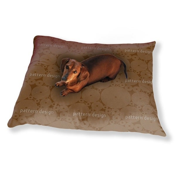 Outlined Circles Dog Pillow Luxury Dog / Cat Pet Bed