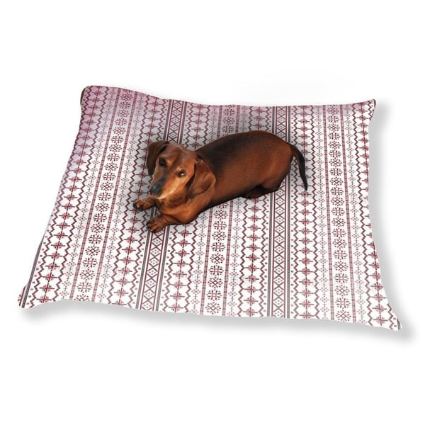 Romanian Embroidery Dog Pillow Luxury Dog / Cat Pet Bed
