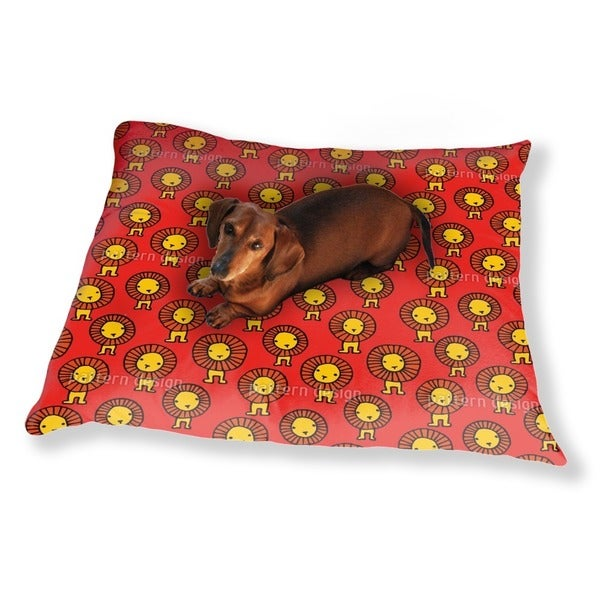 Lions Dog Pillow Luxury Dog / Cat Pet Bed