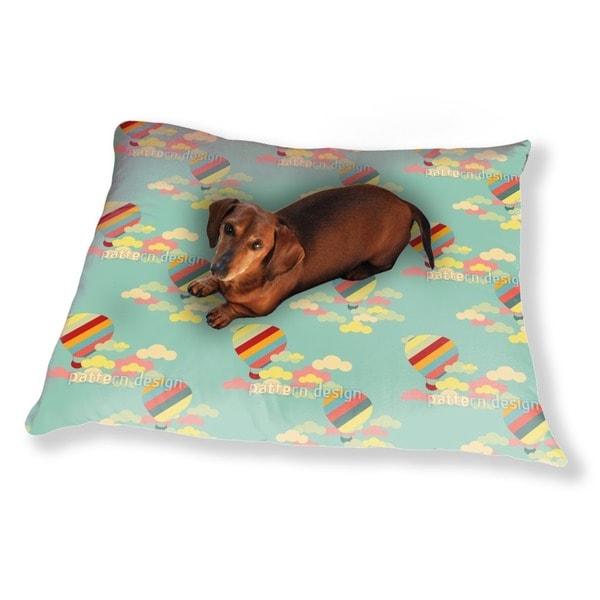 Hot Air Balloons Dog Pillow Luxury Dog / Cat Pet Bed