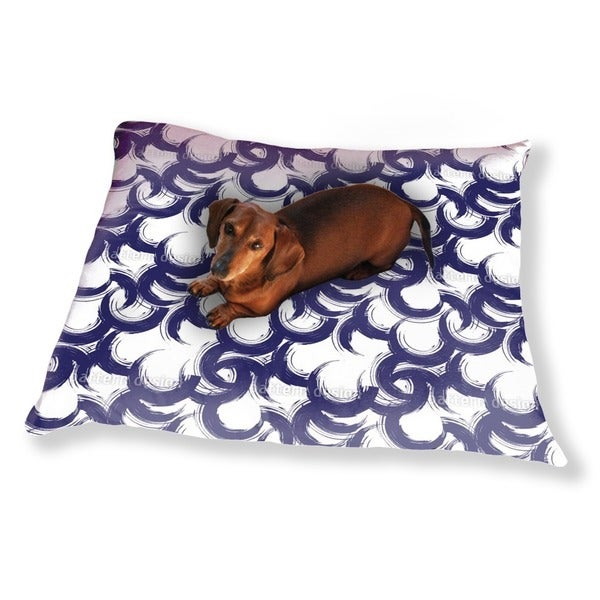 Lively Painted Circles Dog Pillow Luxury Dog / Cat Pet Bed