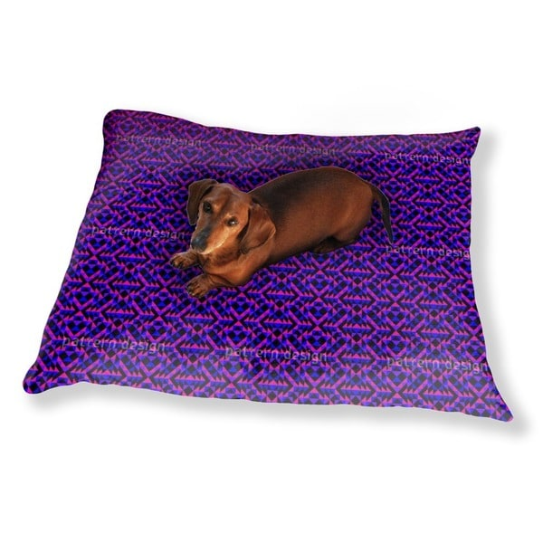 Ultra Geo Symmetry Dog Pillow Luxury Dog / Cat Pet Bed