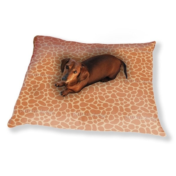 Giraffe Baby Dog Pillow Luxury Dog / Cat Pet Bed