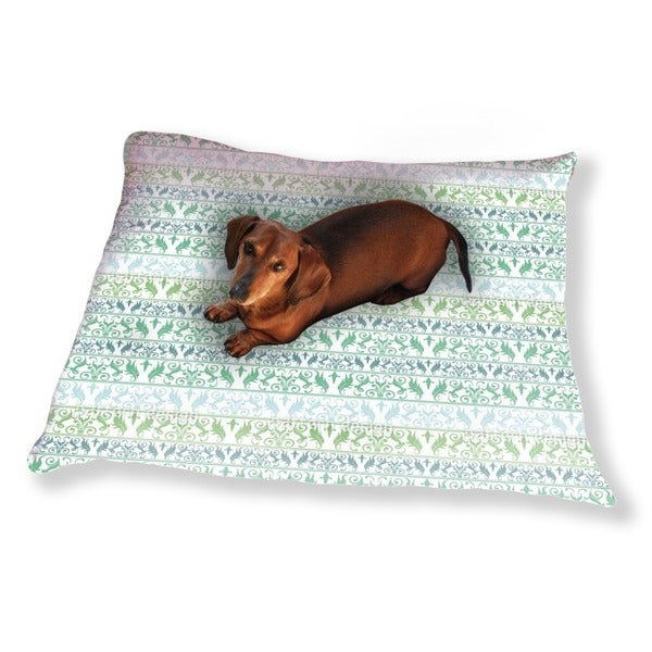 Encora Green Dog Pillow Luxury Dog / Cat Pet Bed
