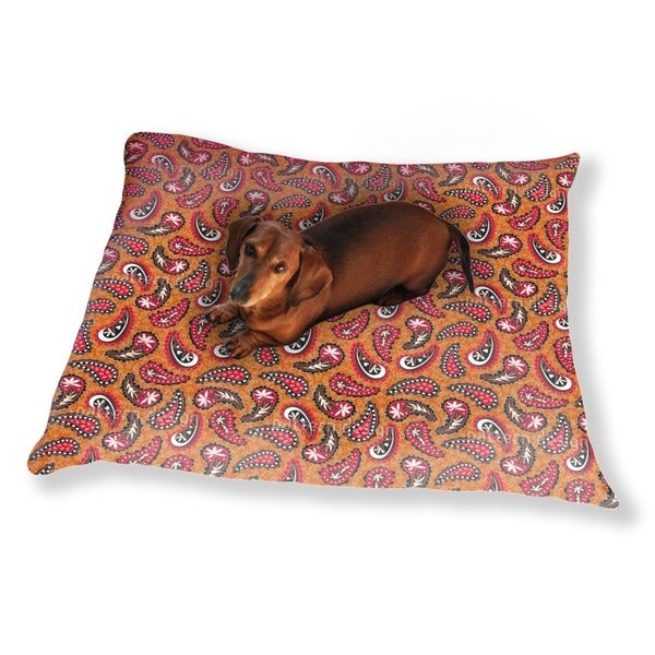 Classy Paisley Design Dog Pillow Luxury Dog / Cat Pet Bed